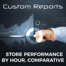 Counterpoint Store Performance by Hour, Comparative Report