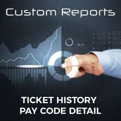 Counterpoint Ticket History, Pay Code Detail