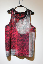 Red Lotus Tank with Silver Sage