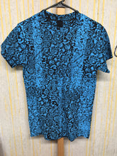 Blue fractal - size small