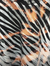 Zebra on Acid wash