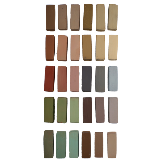 30 Umber Shadows and Shades
