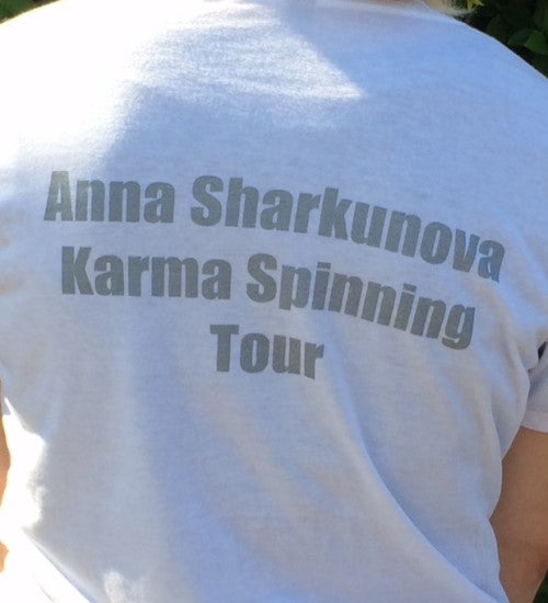"Anna Sharkunova ""Karma Spinning Tour"" Offical Shirts (Women)"