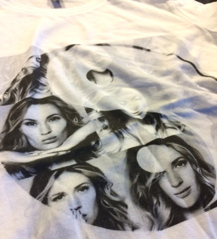 "Anna Sharkunova ""Karma Spinning Tour"" Offical Shirts (Men)"