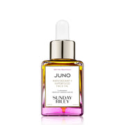 35 ml Juno Superfood face oil, yellow to pink gradient glass bottle