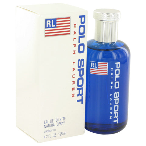 POLO SPORT by Ralph Lauren Eau De Toilette Spray 4.2 oz for Men