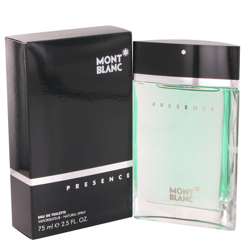 Presence by Mont Blanc Eau De Toilette Spray 2.5 oz for Men