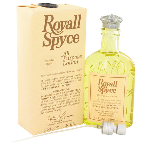 ROYALL SPYCE by Royall Fragrances All Purpose Lotion - Cologne 4 oz for Men