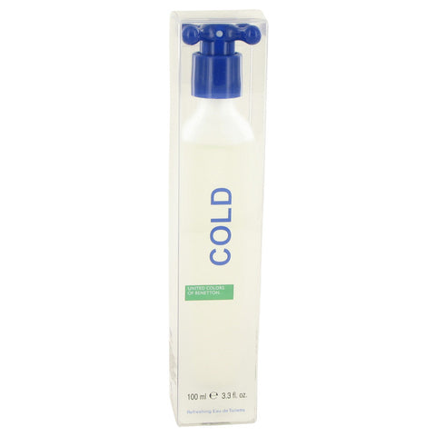 COLD by Benetton Eau De Toilette Spray 3.4 oz for Men