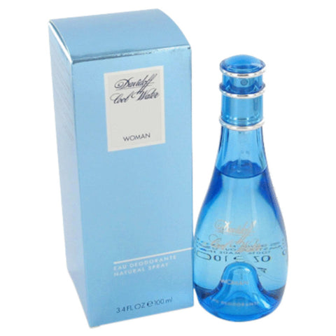 COOL WATER by Davidoff Deodorant Spray 3.3 oz for Women