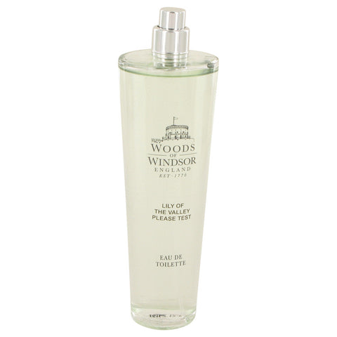 Lily of the Valley (Woods of Windsor) by Woods of Windsor Eau De Toilette Spray (Tester) 3.4 oz for Women
