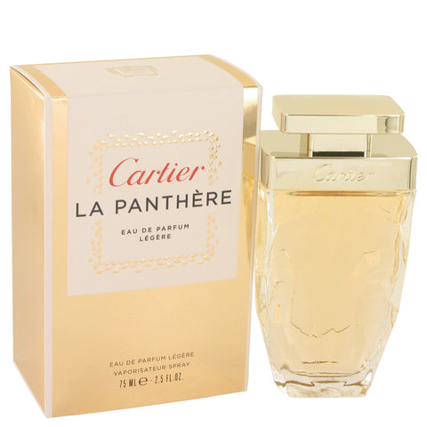 Cartier La Panthere by Cartier Eau De Parfum Legere Spray 2.5 oz for Women