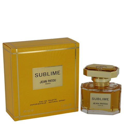 SUBLIME by Jean Patou Eau De Toilette Spray 1 oz for Women