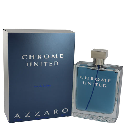 Chrome United by Azzaro Eau De Toilette Spray 6.8 oz for Men