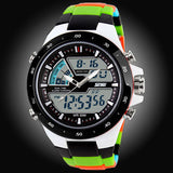 50M Waterproof Mens Sports Watches Relogio Masculino Hot Men Silicone Sport Watch Reloj S Shockproof Electronic Wristwatch