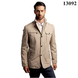 CITY CLASS New Man Summer Casual Jacket Fashion Turn-down Suit Collar Unlined Garment Cotton Outwears Free Shipping