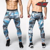 Men Compression Pants Casual Tights Camouflage Pants Bodybuilding Mans High Elasticity Joggers Crossfit Skinny Leggings