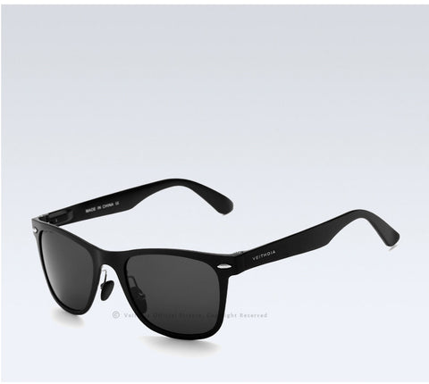 VEITHDIA Brand Unisex Aluminum Square Men's Polarized Mirror Sun Glasses Female Eyewears Accessories Sunglasses For Men