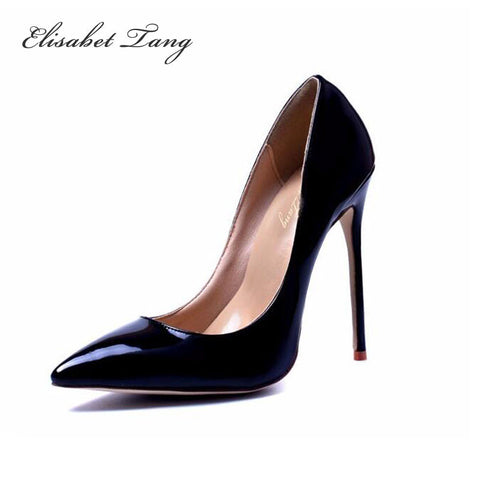 Woman High Heels Pumps Red High Heels 12CM Women Shoes High Heels Wedding Shoes Pumps Black Nude Shoes Heels