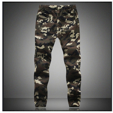 M-5X 2017 Mens Jogger Autumn Pencil Harem Pants Men Camouflage Military Pants Loose Comfortable Cargo Trousers Camo Joggers