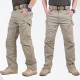 IX9 Tactical Men Pants Combat Trousers SWAT Army Military Pants Men Cargo Pants For Men Military Style Casual Pants