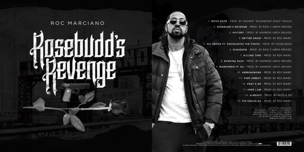 Roc Marciano - Rosebudd's Revenge (CD) (Shipping NOW)