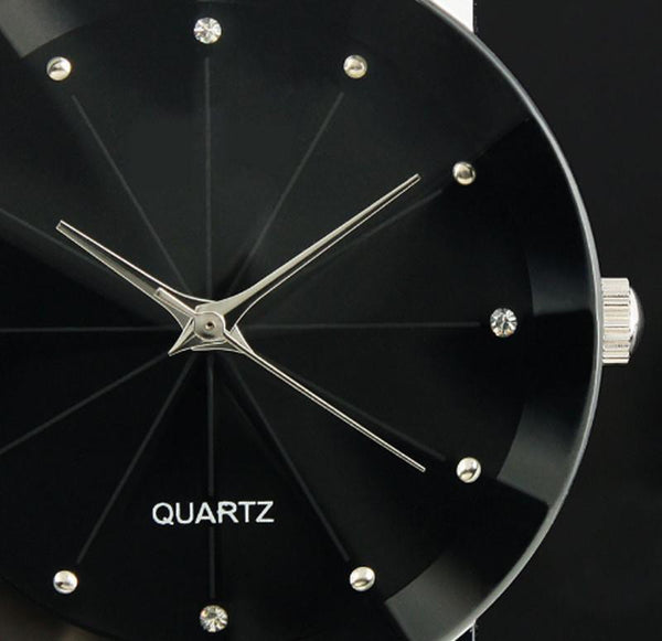 Luxury Quartz Stainless Steel Dial Watch