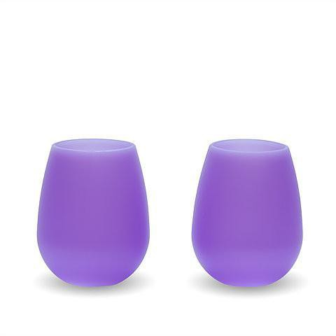 The Silicone Wine Glass (set of 2)
