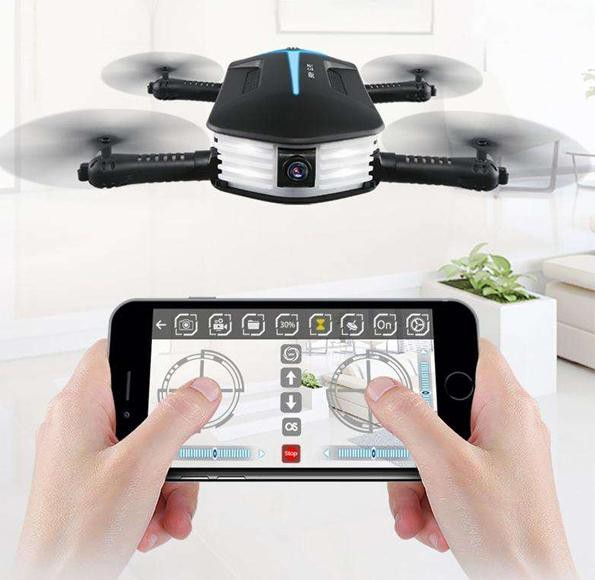 The Mini Elfie Selfie Drone