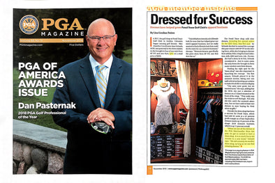 QED Style Dresses Featured in November Issue of PGA Magazine