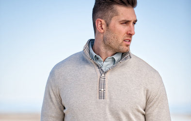 Oatmeal Brigham Pullover