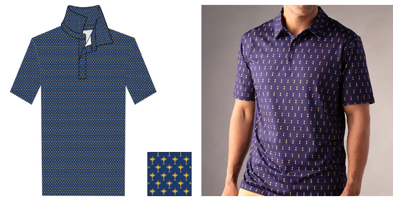 Ryder Print Men's All-Over Print Polo