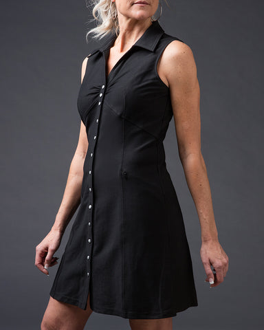 Black Vineyard Dress