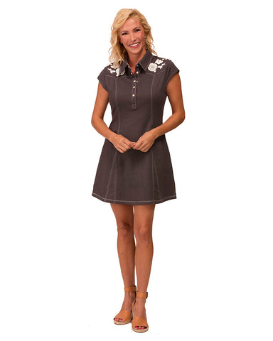 Black Wash Holladay Dress