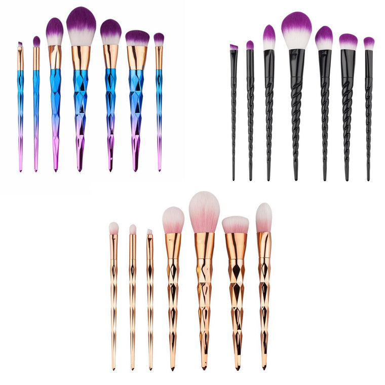 Unicorn™ Makeup Brushes 7 PCs Set