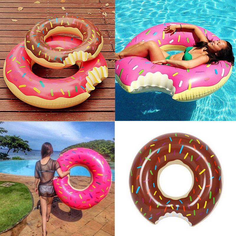 double swimming rings