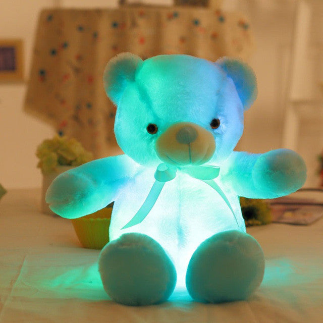 THE HUGGABLE NIGHT LIGHT TEDDY BEAR