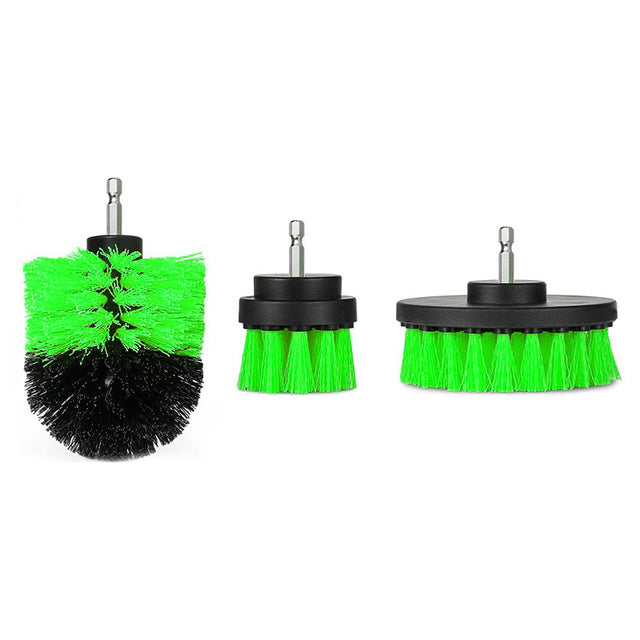 3 Pcs/Set Power Scrubber Brush