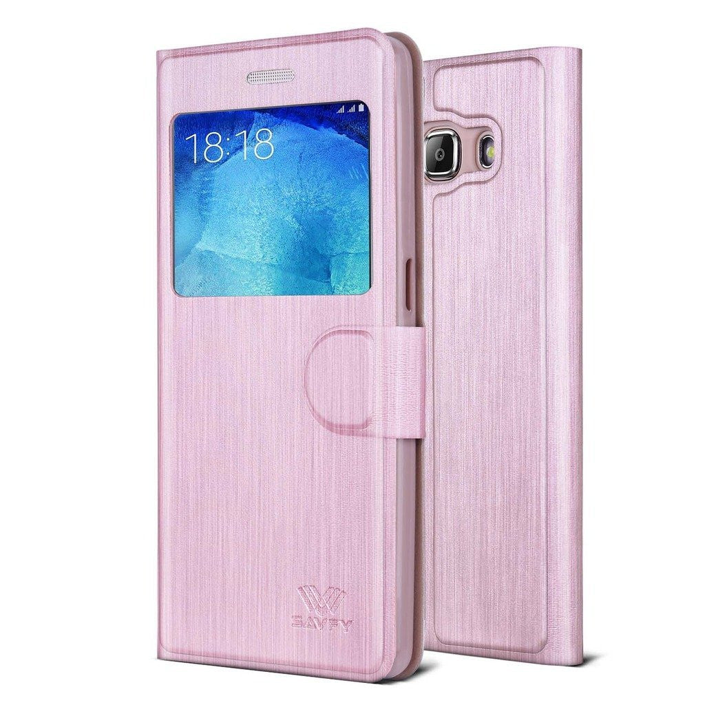 Samsung Galaxy J5 Case/Window View Case Cover