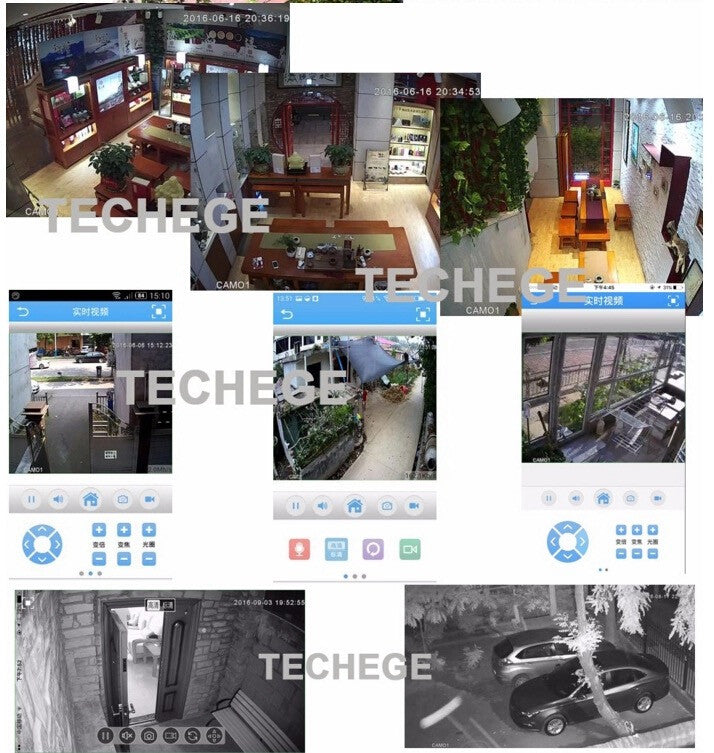 SmartHome Motion Detection IP Camera