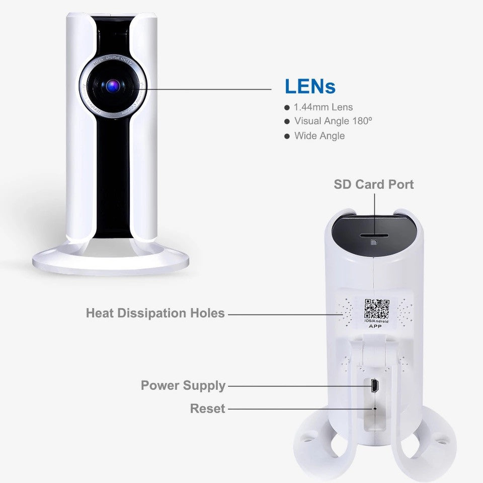 A brand wifi IP security camera