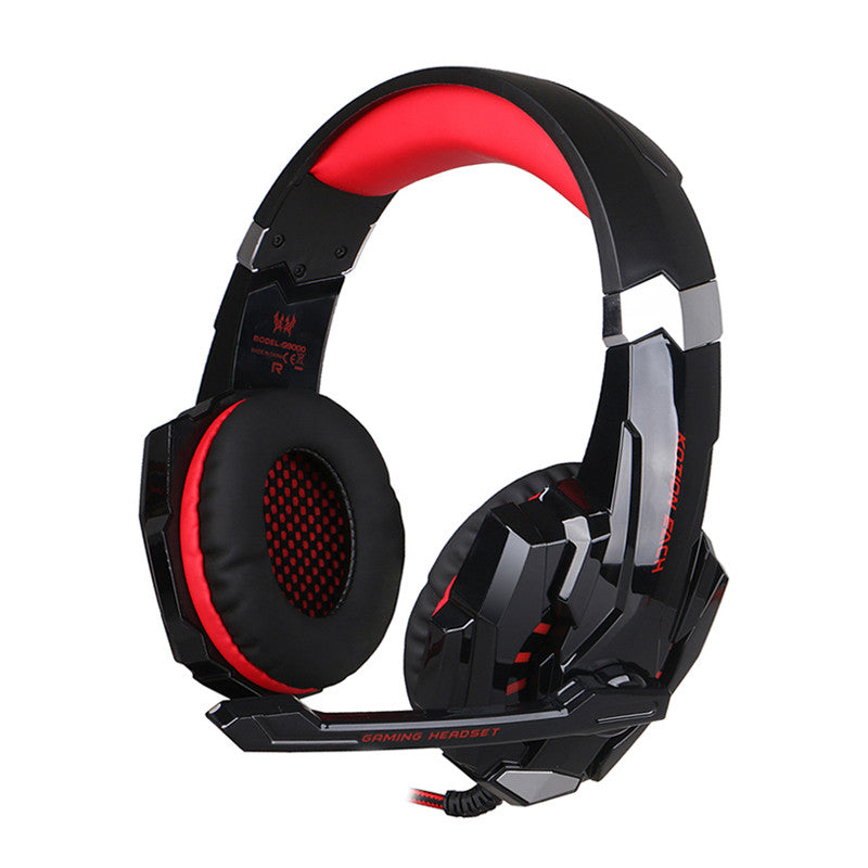 G9000 Gaming Headphone With Mic & LED Light
