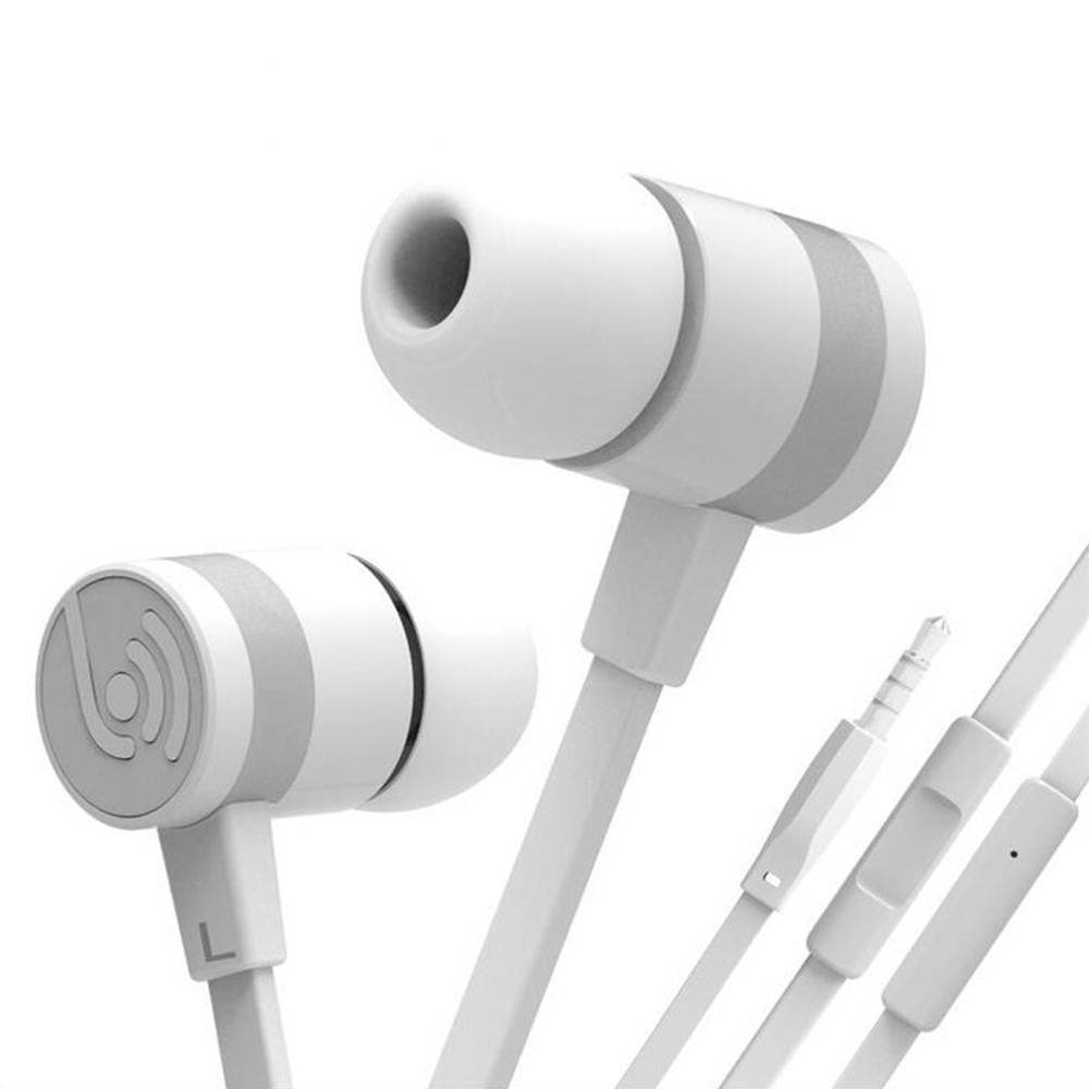 Original BEEVO EM330 In-Ear Super Bass Earphones + Mic for Iphone or Android devices