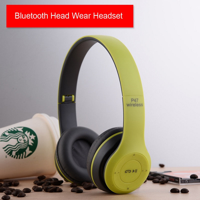 Super Bass Wireless Bluetooth Earphone With MIC