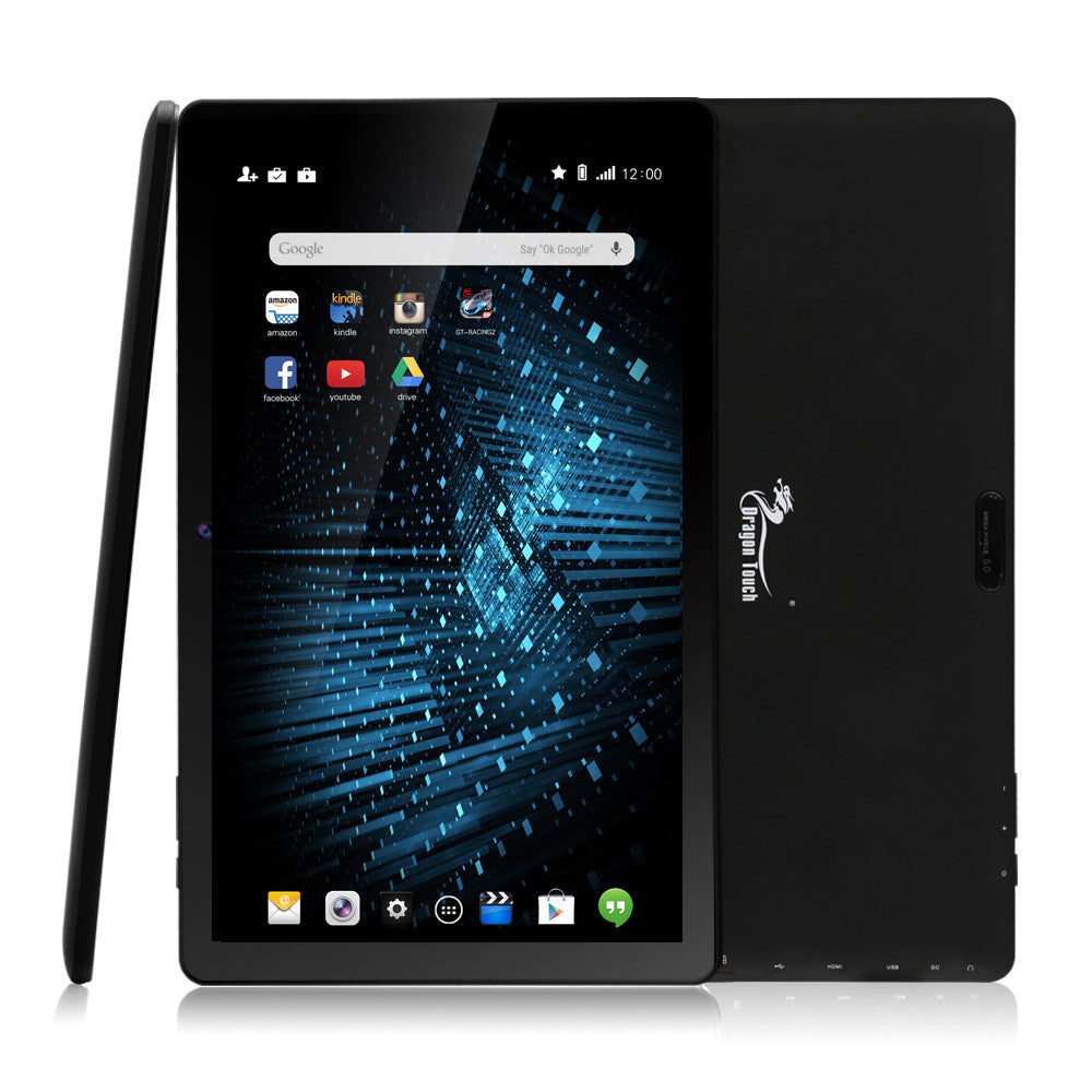 Dragon Touch X10 10-Inch 16GB Octa Core Tablet with 5.0 MP Camera and Android 5.1 Lollipop