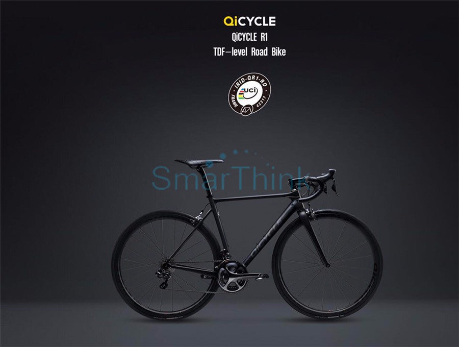 Original Xiaomi QiCYCLE  Level Road Bike With Smart Phone APP Remote Wireless Control