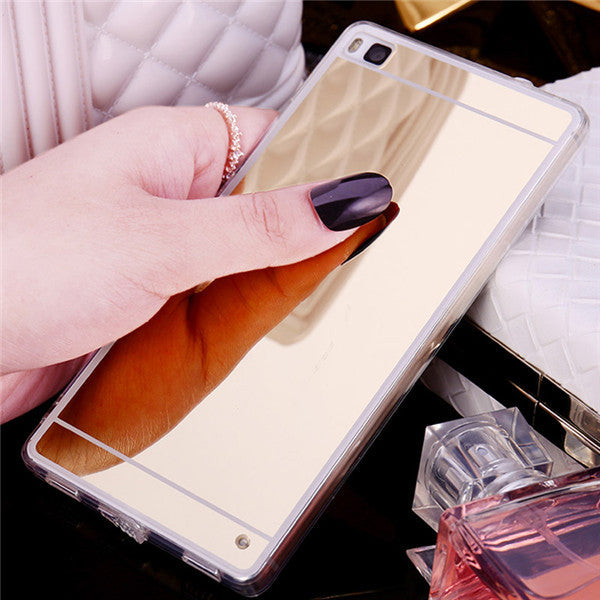 Luxury Mirror  FOR HUAWEI Ascend