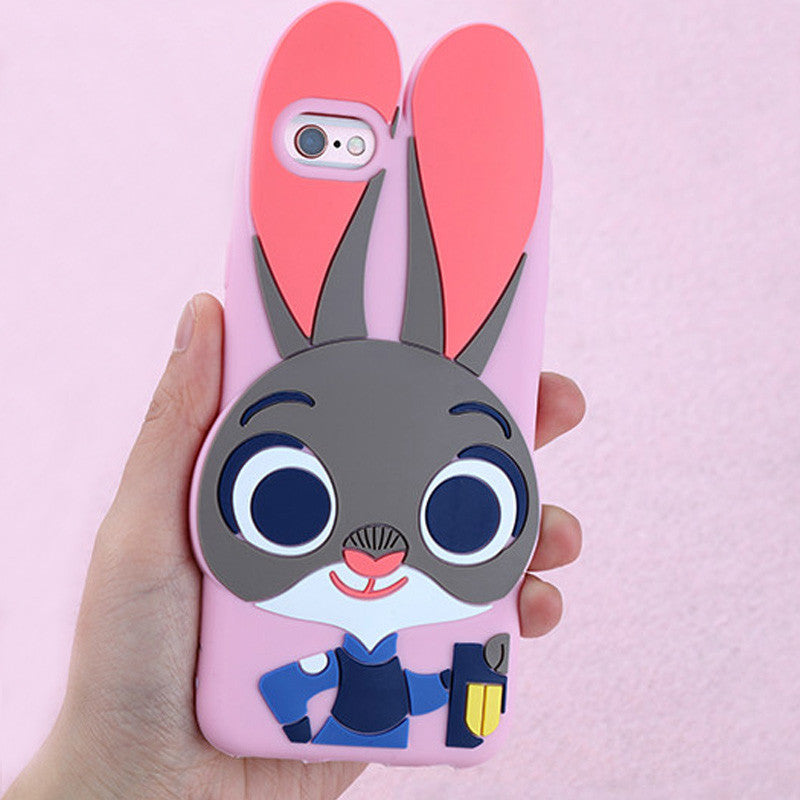 Zootropolis Catoon Judy  For iphone 6plus 6 6S 5 5S SE Phone Protective