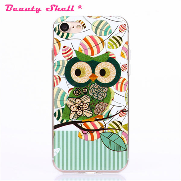 New Arrival For iPhone 7 4.7inch Fashion Phone Case Cartoon Owl