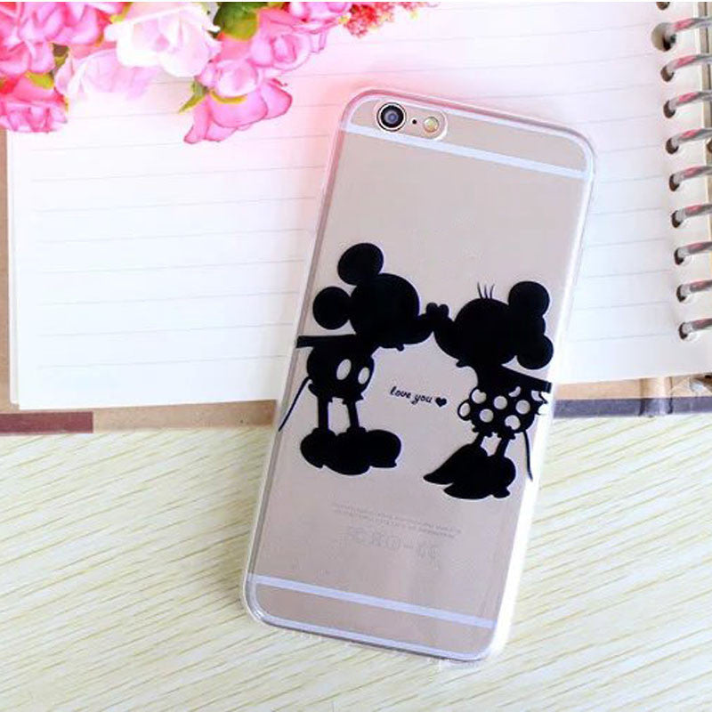 Various forms Style MickyMouse Transparent Phone case cover for apple Iphone 5 SE 5G 5S Soft Protective